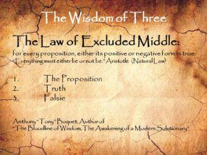 The Wisdom of Three Law of Excluded Middle